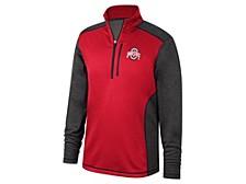 Ohio State Buckeyes Men's Rize Poly Fleece Quarter Zip Pullover