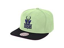 Milwaukee Bucks Hardwood Classic Easter Snapback Cap