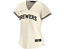 Milwaukee Brewers Women's Official Replica Jersey