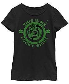 Big Girls Justice League Lucky Archer Short Sleeve T-shirt