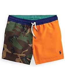 Toddler Boys Traveler Swim Trunks