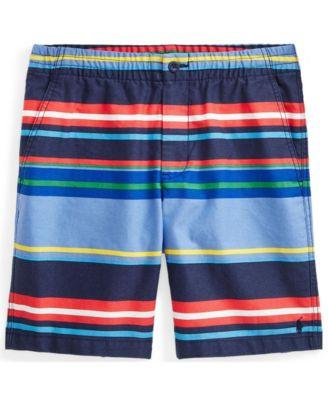 폴로 랄프로렌 Polo Ralph Lauren Big Boys Polo Prepster Chino Shorts,Bermuda Stripe