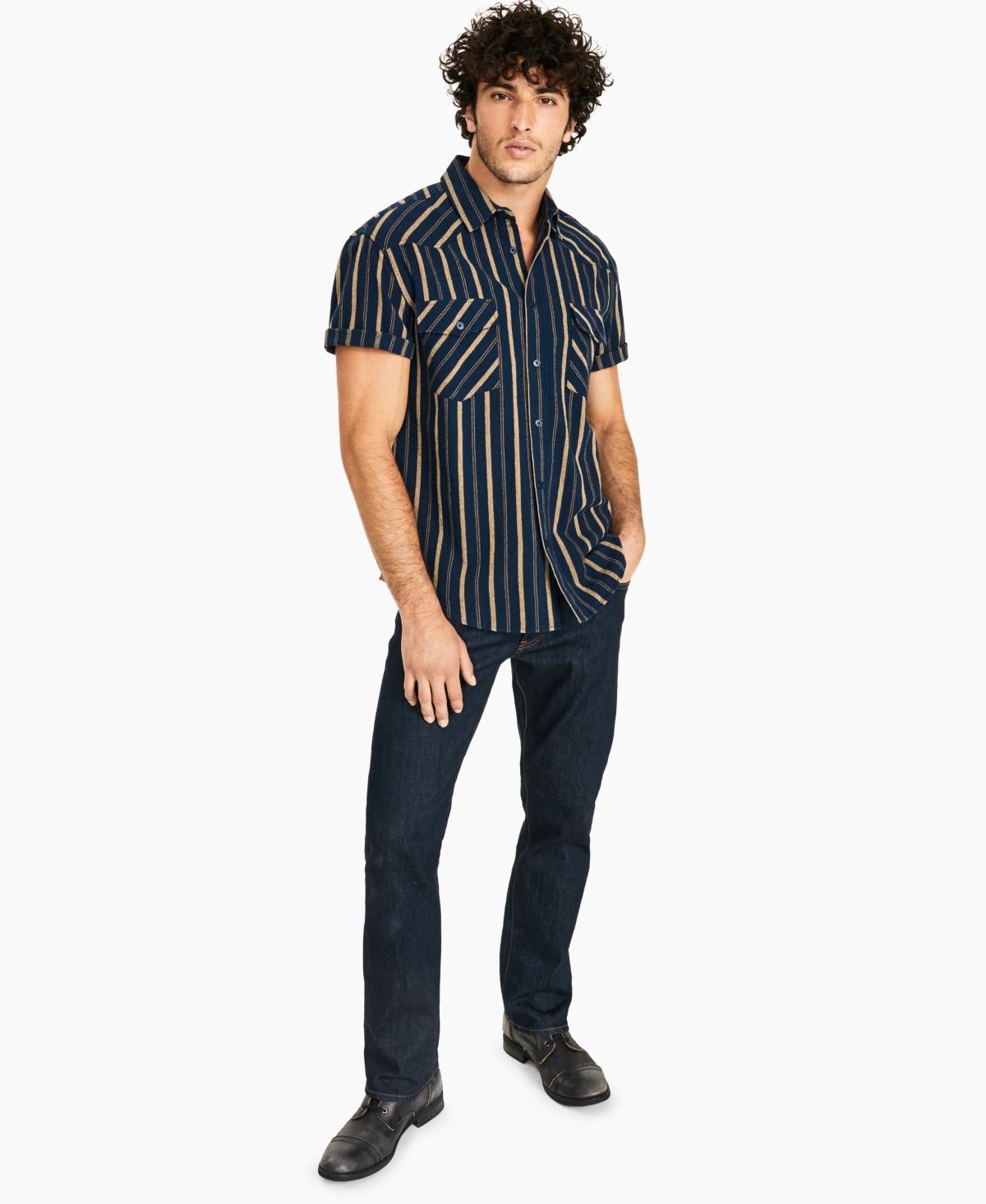 Crwth Men's Striped Shirt