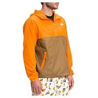 The North Face Men's Cyclone UPF 50 Anorak (Brown/Orange)