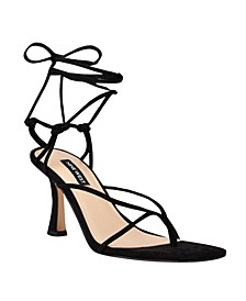 Women's Yarin Strappy Square Toe Dress Sandals