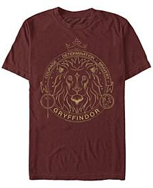 Men's Gryffindor Symbol Short Sleeve Crew T-shirt
