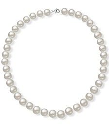 """Cultured Freshwater Pearl (9-10mm) 18"""" Collar Necklace"""