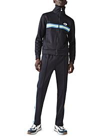 Men's Heritage Classic-Fit Stripe Full-Zip Sweatshirt
