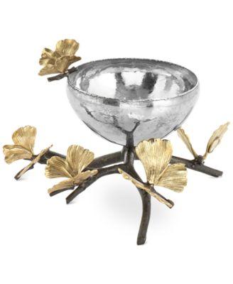 Butterfly Ginkgo Nut Bowl
