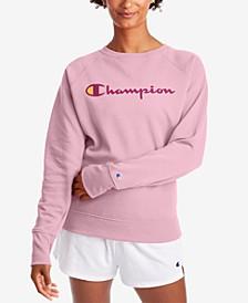 Women's Powerblend Graphic Boyfriend Sweatshirt