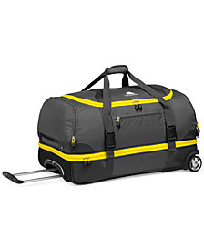 "CLOSEOUT! High Sierra Sportour 28"" Rolling Drop Bottom Duffel"