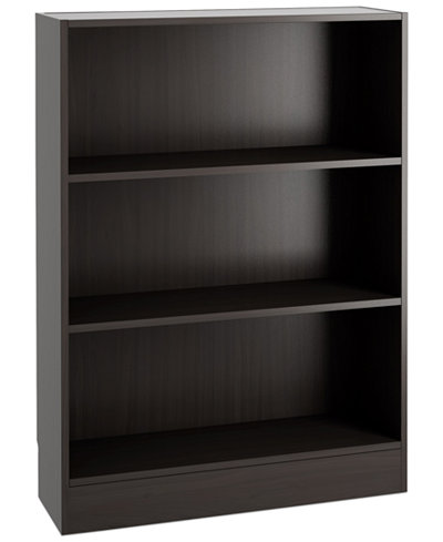 Berkley Ready-to-Assemble Short Wide Bookcase, Quick Ship