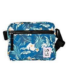 California Floral Hippie Fanny Pack