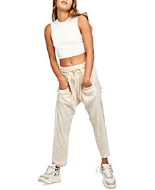 Roll With It Cotton Harem Pants