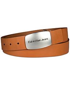 Women's Casual Plaque Buckle Belt