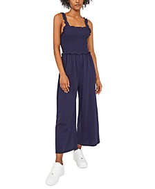 Smocked Jumpsuit, Created for Macy's
