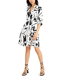 INC Printed Shirtdress, Created for Macy's