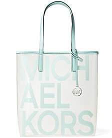 The Signature Michael Bag Clear Tote