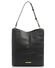 Amelia Large Leather Bucket Bag