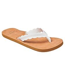 Women's Cushion Celine Flip-flop Sandals