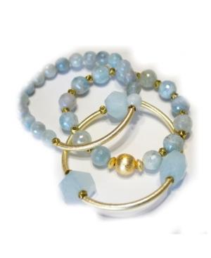 Women's Aquamarine Bracelet