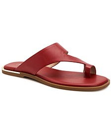 Women's Freddee Toe-Ring Flat Sandals, Created for Macy's