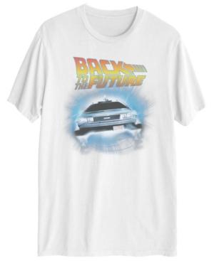 Men's Back to the Future Deloreon Short Sleeve T-shirt