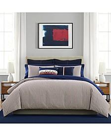 Woven Flag 3 Piece Comforter Set, Full/Queen