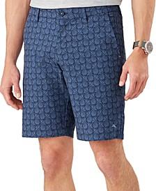 Men's Chip Shot Pineapple Stretch Shorts