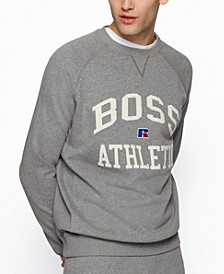 BOSS x Russell Athletic Unisex Relaxed-Fit Sweatshirt