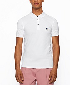 BOSS x Russell Athletic Unisex Slim-Fit Polo Shirt