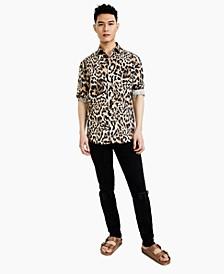 Men's Oversized Shirt, Created for Macy's