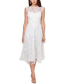 Lace Appliqué Dress