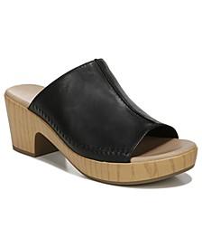 Women's Free Ride Mule Sandals