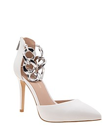 Women's Haindi Pump with Ankle Chains