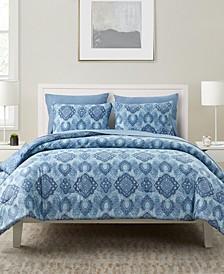 Konya 7 Piece Bed-in-a-Bag Full/Queen Comforter Set