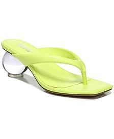 Corteta Thong Ball-Heel Sandals, Created for Macy's