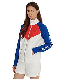 Ribbed Mockneck Jacket