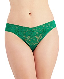 Women's Lace Thong Underwear, Created for Macy's