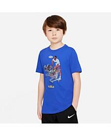 Big Boys Dri-Fit Lebron Basketball T-shirt