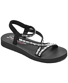 Women's Cali Meditation - Sparkle Chick Athletic Sandals from Finish Line