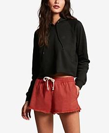 Juniors' Strutin Stone Cotton Shorts