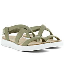 Women's Corksphere Ankle-Strap Slingback Sandals