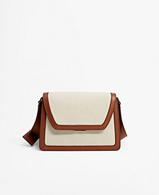 Accordion Fold Crossbody Bag