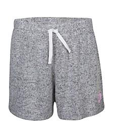 Big Girls Soft Hacci Knit Shorts