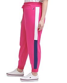Plus Size Varsity Panel Sweatpants