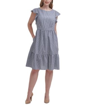 Plus Size Cotton A-Line Dress