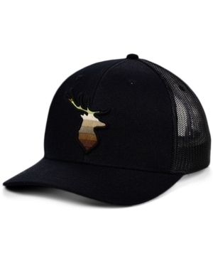 Local Crowns Deer Animal Collection Curved Trucker Cap