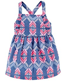 Baby Girls Aztec Linen Dress