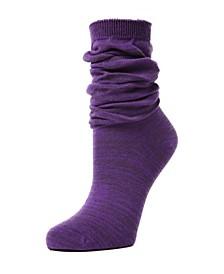 Women's Flake Zag Sherpa Lined Lounge Socks